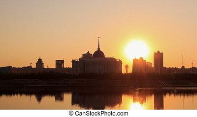 Presidential Palace. Zoom. Astana, Kazakhstan
