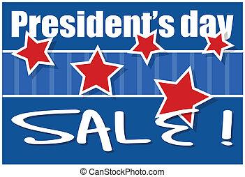 Presidents Day Sale Background Vector Illustration