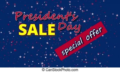 President's Day Sale, special offer banner text
