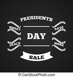 Presidents Day. Sale. Typography. Vector - Presidents Day....