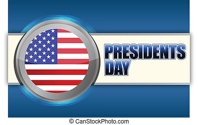 Presidents day sign