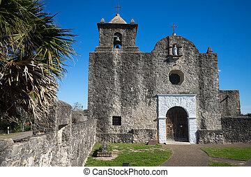 Presidio,  chape,  Bahia,  Texas,  la