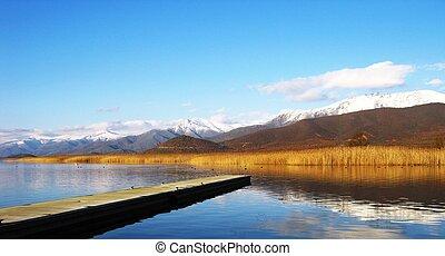 prespa, lago, 2