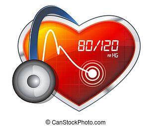 pressão sangue, monitorando