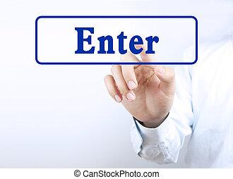 Press enter button