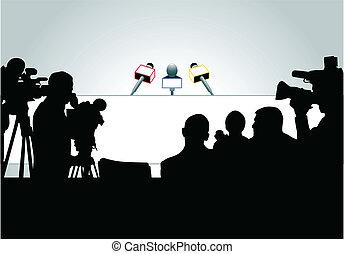 press konferensen