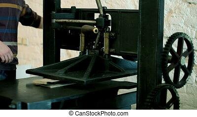 press  - press Hand Printing presses