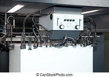 Press printing - Offset machine