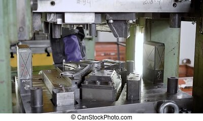 press production. Machine parts are produced using a sheet...