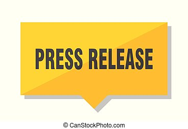 press release price tag - press release yellow square price...