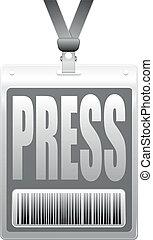 press tag
