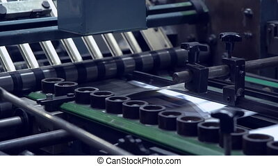press typography equipment