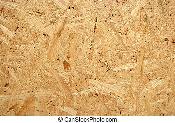 Pressed chipboard texture. Wooden background