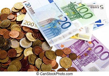 pression, euro