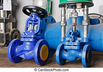 pression, valves