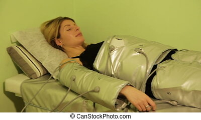 Pressotherapy Lymphatic Drainage Machine in Beauty Centre -...