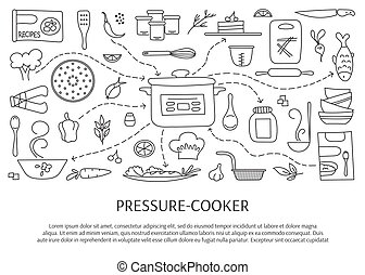 Pressure cooker elements - Pressure cookers and accessories....