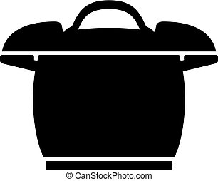 Pressure cooker icon - Pressure cooker, shade picture
