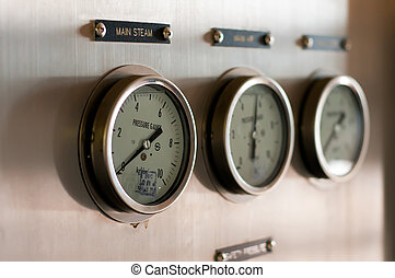 Pressure gages - Three gages of pressure which are used in...