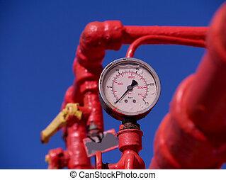pressure gauge  -  pressure gauge