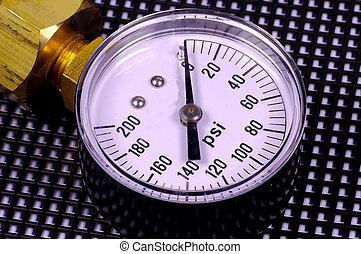 Pressure Gauge - Photo of a Pressure Gauge
