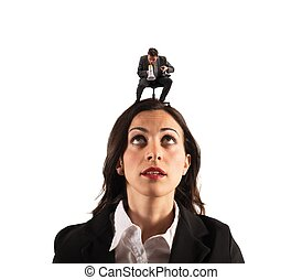 Pressure of the boss - Concept of pressure with boss ...