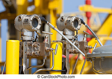 Pressure transmitter in oil and gas