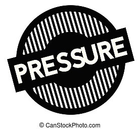 Pressure typographic stamp