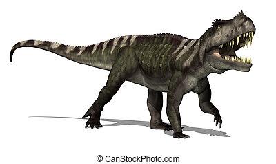 Prestosuchus Dinosaur - The Prestosaurus dinosaur lived in...