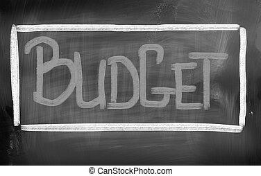 presupuesto, concepto