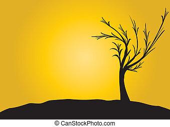 pretas, árvore