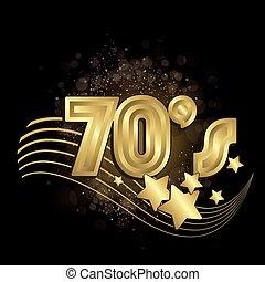 pretas, 70s