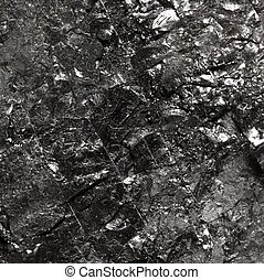 pretas, bituminous, carvão, carbono, pepita, fundo