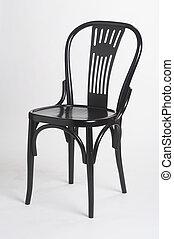 pretas, cadeira, ii, -, schwarzer, stuhl, ii