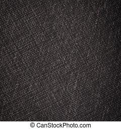 pretas, linho, textura