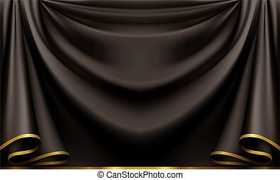pretas, luxo, fundo