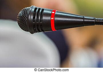 pretas, microfone, quarto encontrando