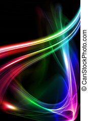 pretas, projeto abstrato, fundo, coloridos