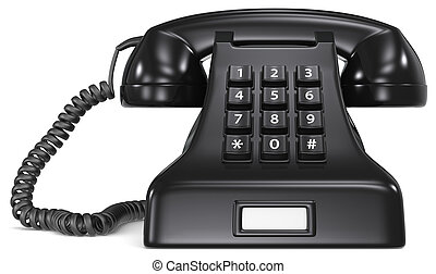 pretas, telephone.