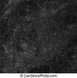 pretas, textura, mármore