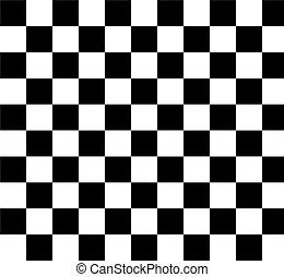 preto-e-padrão branco