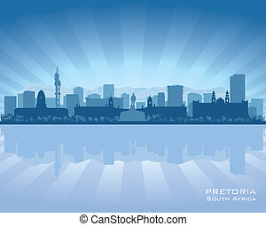 Pretoria South Africa city skyline