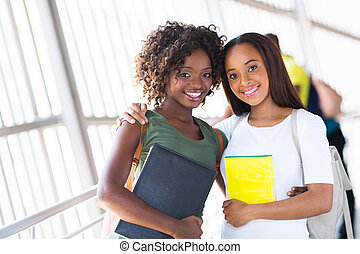 african american college friends
