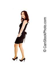 Pretty Asian woman.