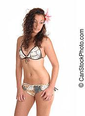 Pretty bikini girl.
