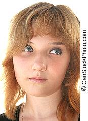 Pretty blond girl