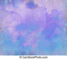 Pretty Blue Watercolor Abstract Digital Painting Background