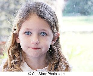 pretty child portrait