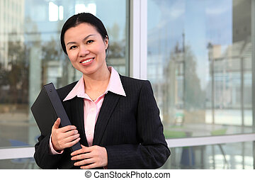 Pretty Chinese Business Woman