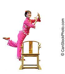 pretty chinese opera actress - chinese traditional opera ...
